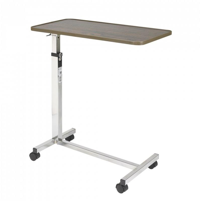 Drive Medical Drive Deluxe Tilt Top Overbed Table