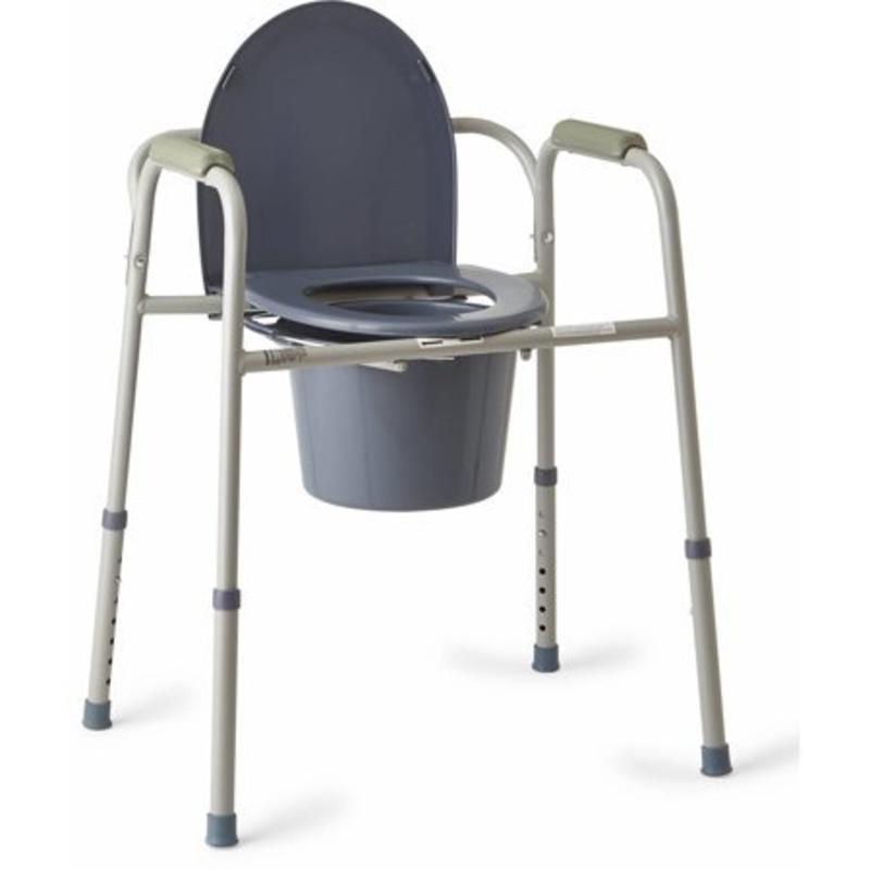 Refurbished Standard Commodes - Fixed Arms