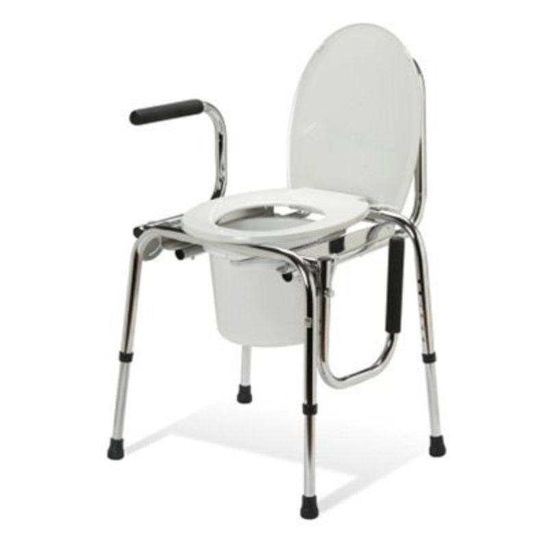 Refurbished Standard Commodes - Drop-Arms