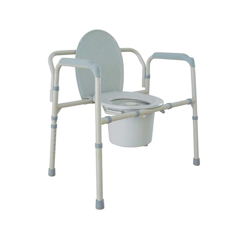 Refurbished Bariatric Commodes - Fixed Arms