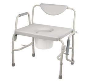 Refurbished Bariatric Commodes - Drop-Arms