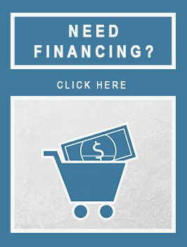 Need Financing? Click Here. Shopping Cart With Dollar Bill Icon
