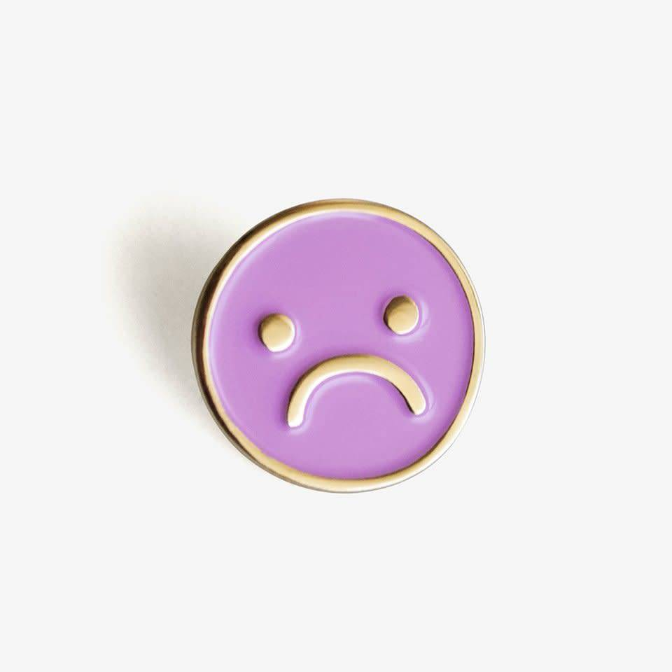 The Good Twin Sad Day Enamel Pin