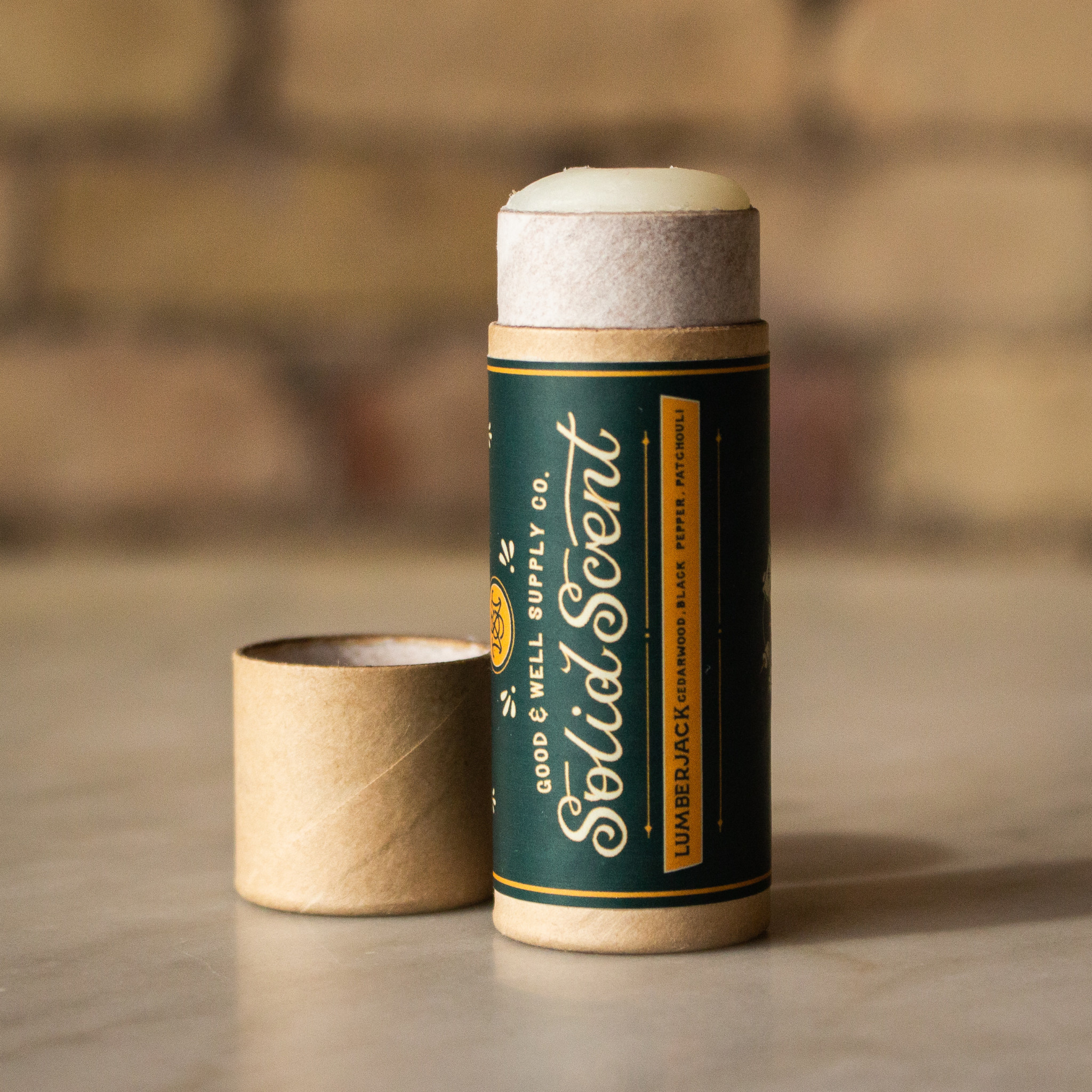Good and Well Supply Company Solid Scent - Lumberjack