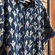 One World Brothers Short Sleeve Indigo Shirt