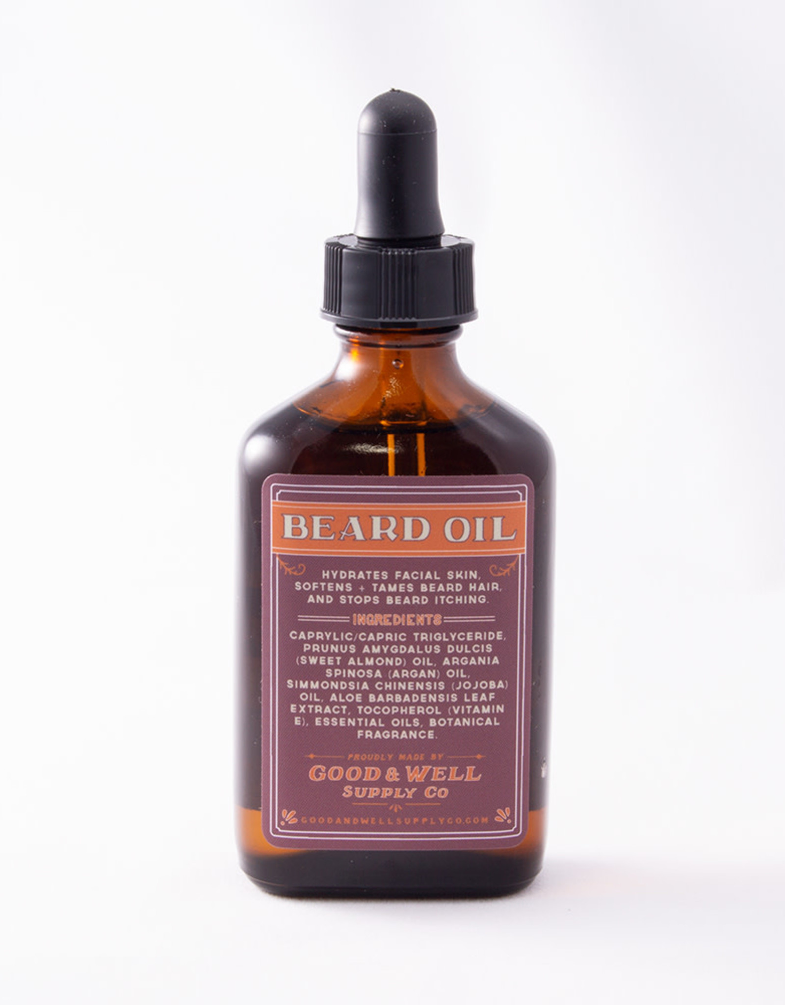 Good and Well Supply Company Beard Oil - Moss