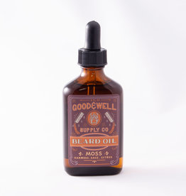 Good and Well Supply Company Beard Oil - Moss