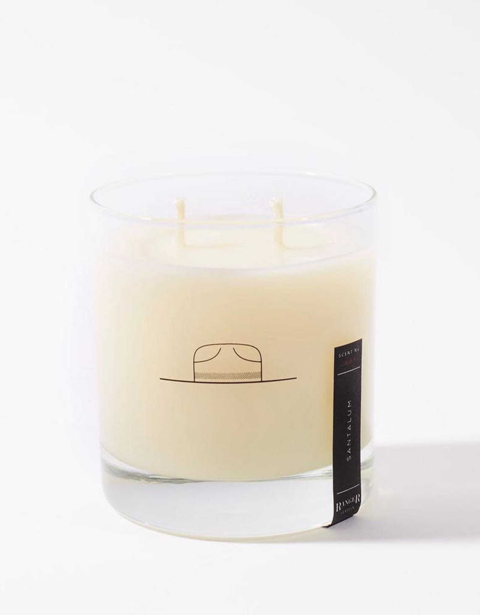 Ranger Station Santalum Rocks Glass Candle