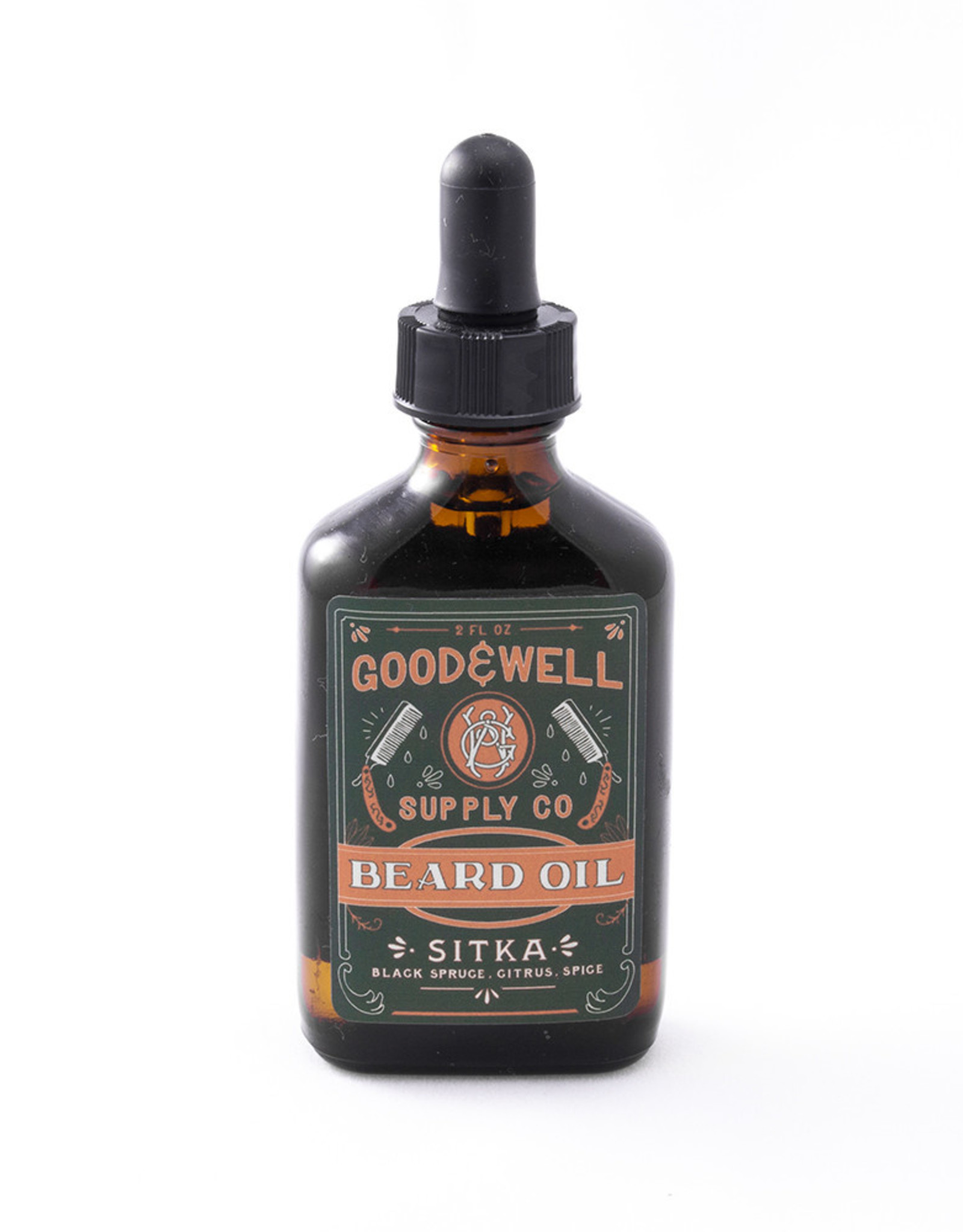Good and Well Supply Company Beard Oil - Sitka