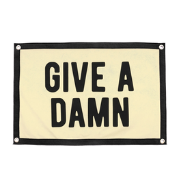 Oxford Pennant Give a Damn Camp Flag