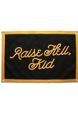 Oxford Pennant Raise Hell Kid Camp Flag