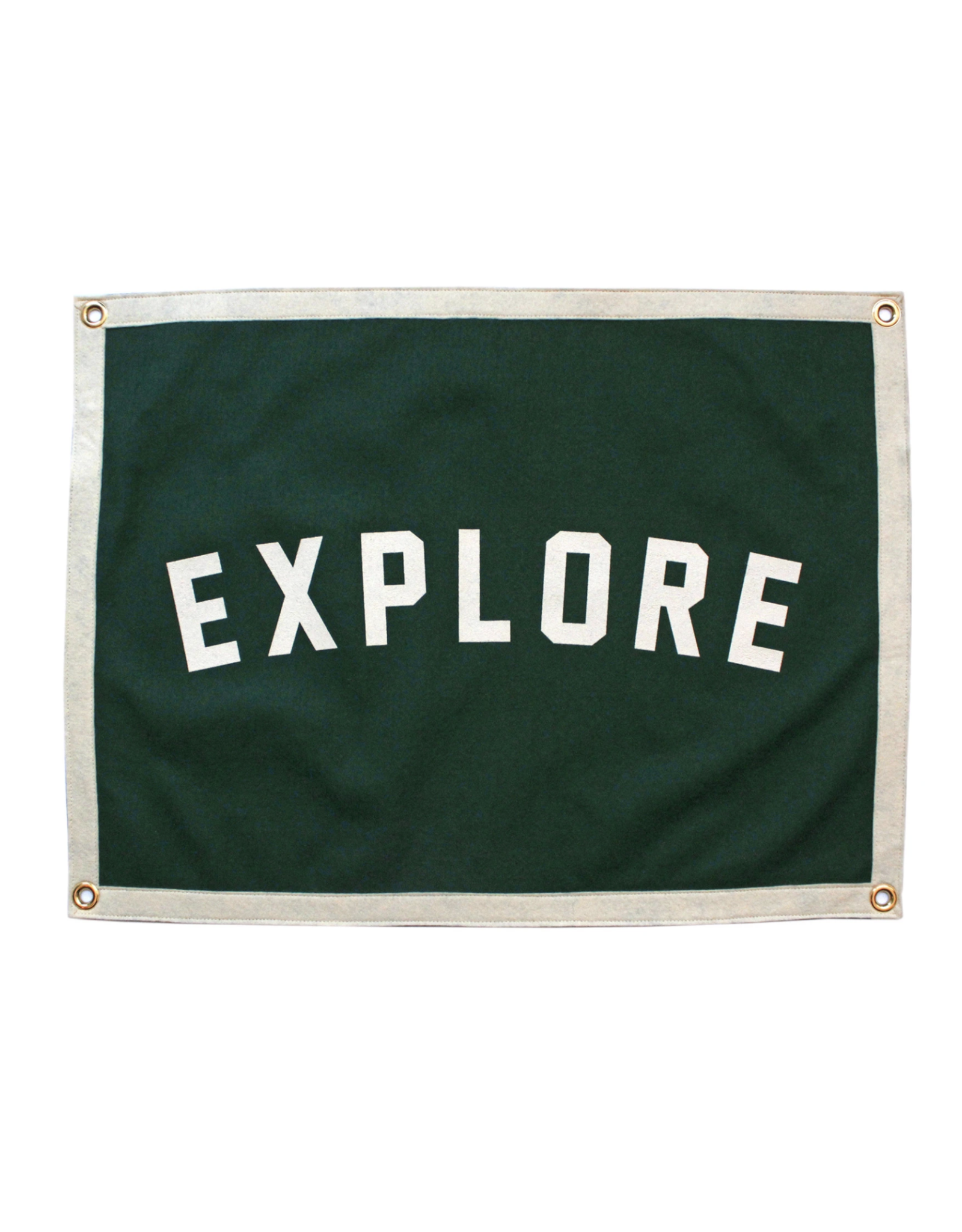 Oxford Pennant Explore Camp Flag