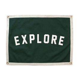 Oxford Pennant Explore Camp Flag