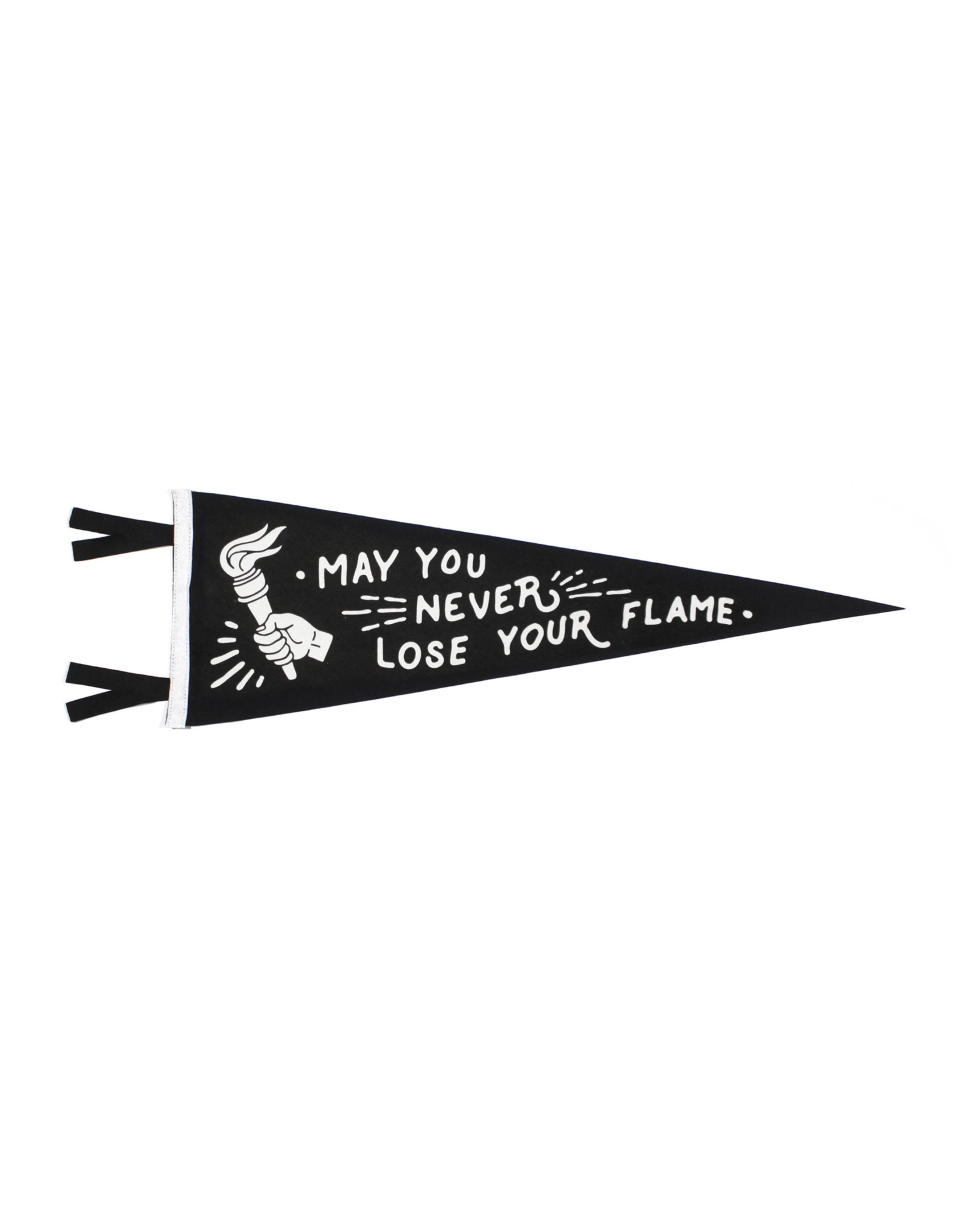 Oxford Pennant May You Never Lose Your Flame Pennant