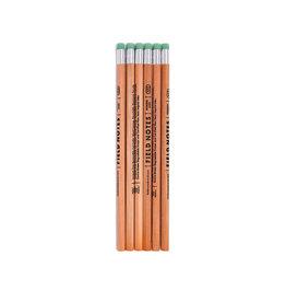 Field Notes Woodgrain Pencil 6-Pack