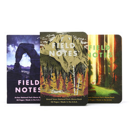 Field Notes National Parks D 3-Pack