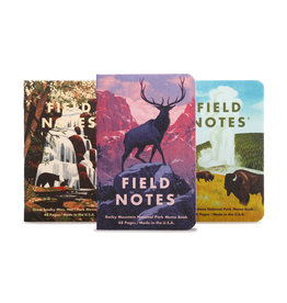 Field Notes National Parks C 3-Pack