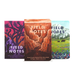 Field Notes National Parks B 3-Pack