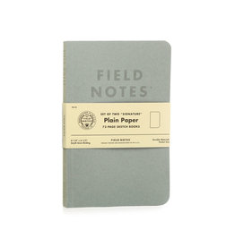 Field Notes Signature Plain 2-Pack