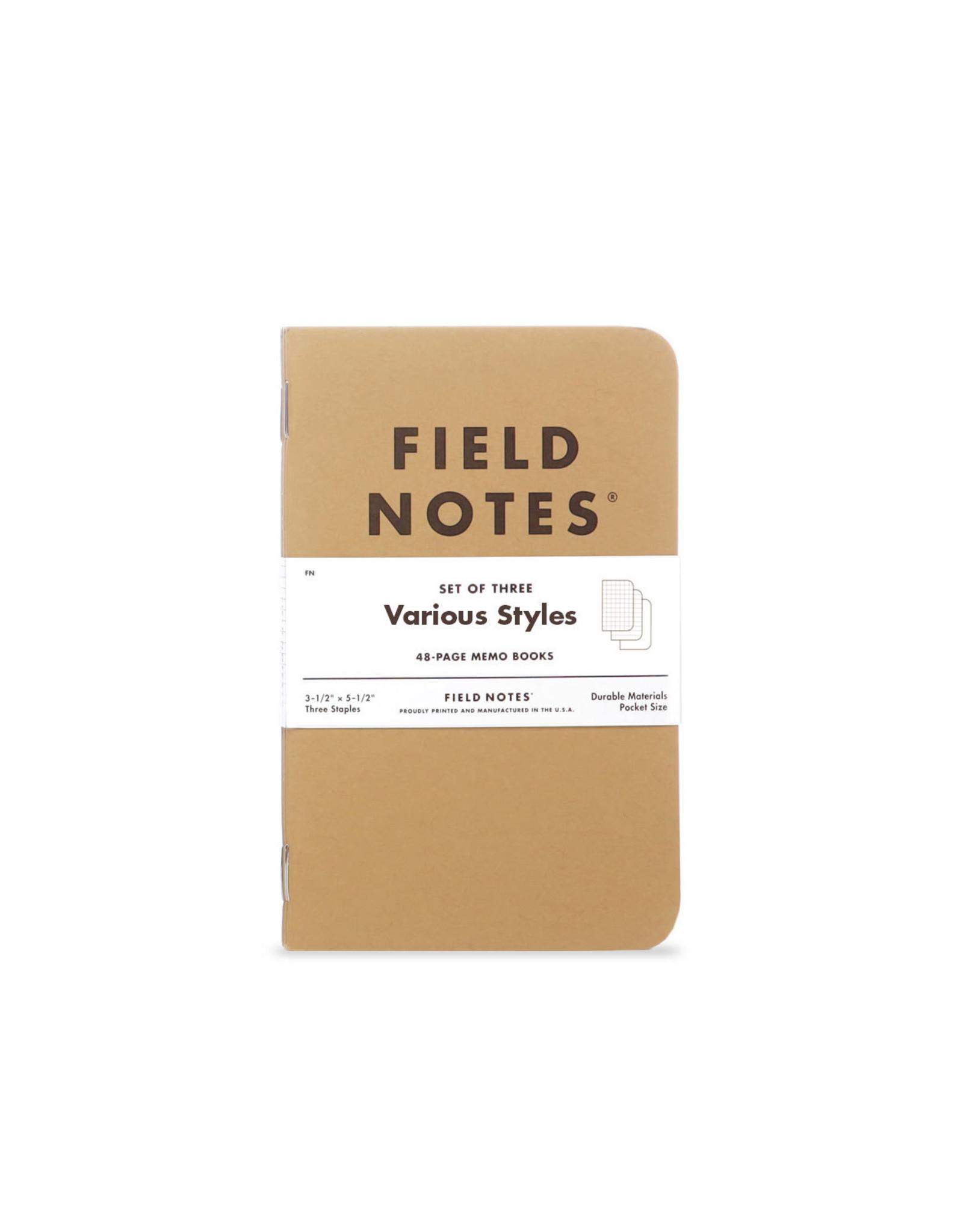 Field Notes Original Kraft 3-Pack
