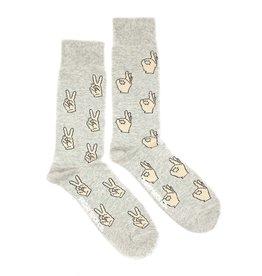 Friday Sock Co Peace A OK Socks