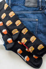 Friday Sock Co Burger & Fries Socks