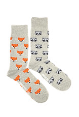 Friday Sock Co Raccoon & Fox Socks