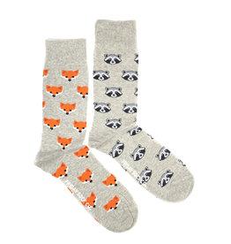 Friday Sock Co Raccoon & Fox Socks