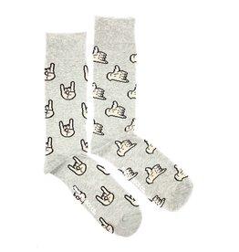 Friday Sock Co Hand Signals Socks