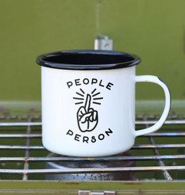 Enamel Co People Person 12 oz Enamel Mug