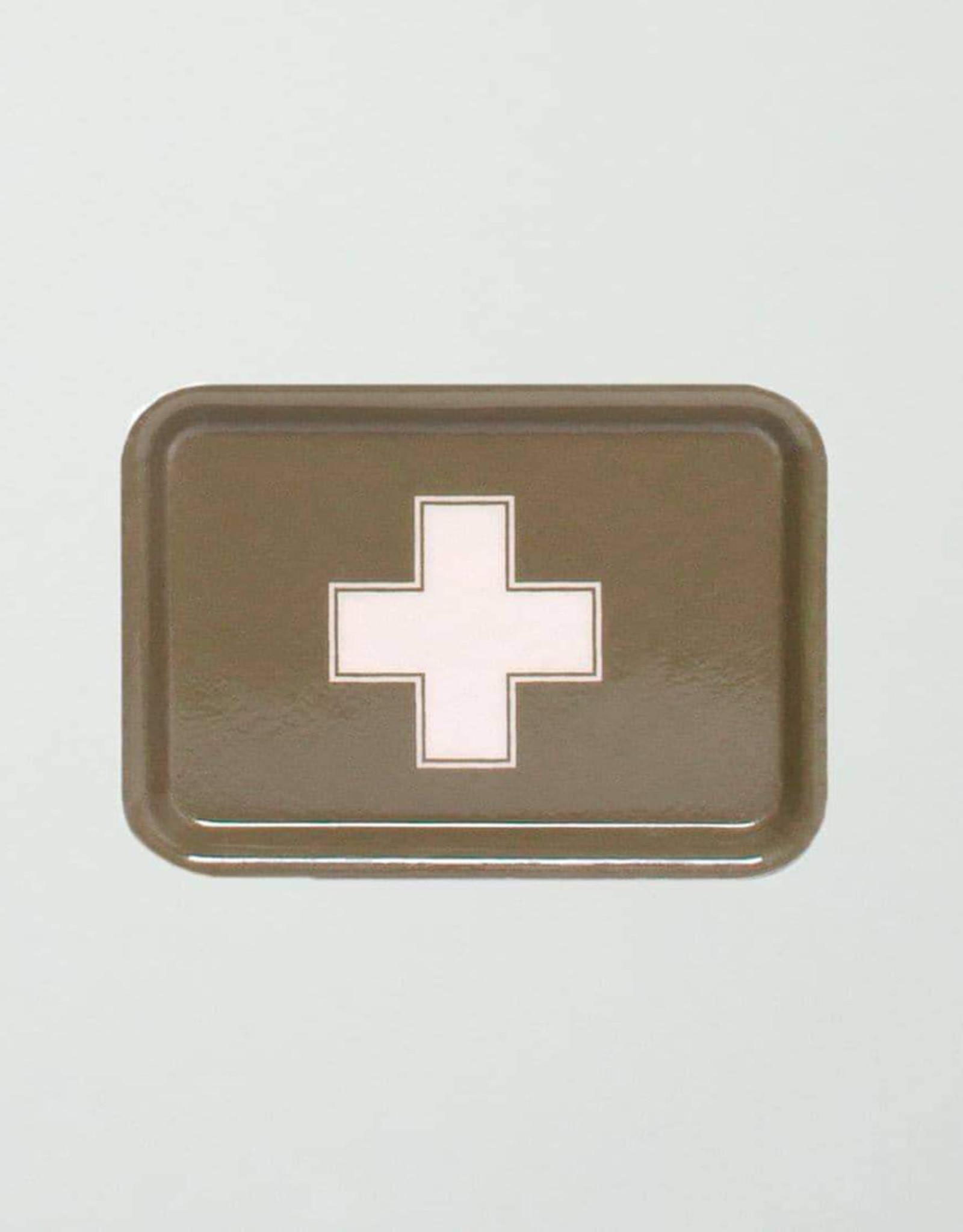 Izola Apothecary Tray Green Cross