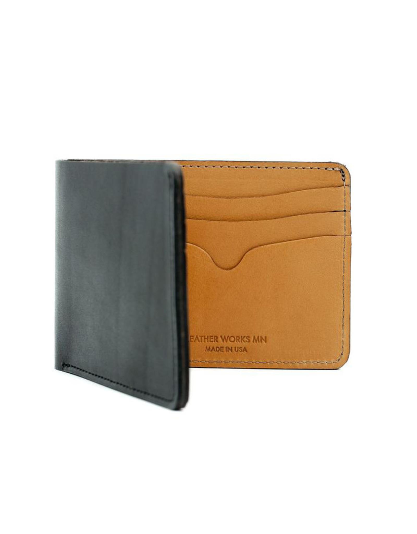 Leather Works Minnesota No. 9 Bifold Wallet