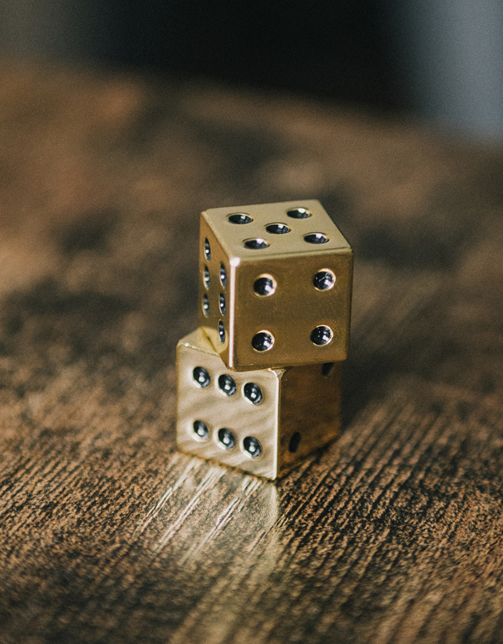 Luckies of London Gold Dice