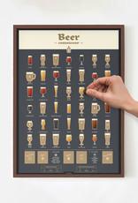 Luckies of London Beer Poster