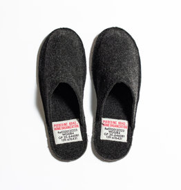 Puebco Large Slippers - Dark Grey