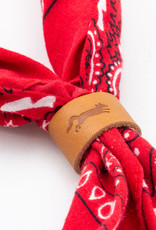Leather Works Minnesota Scout Leather Bandana Slide