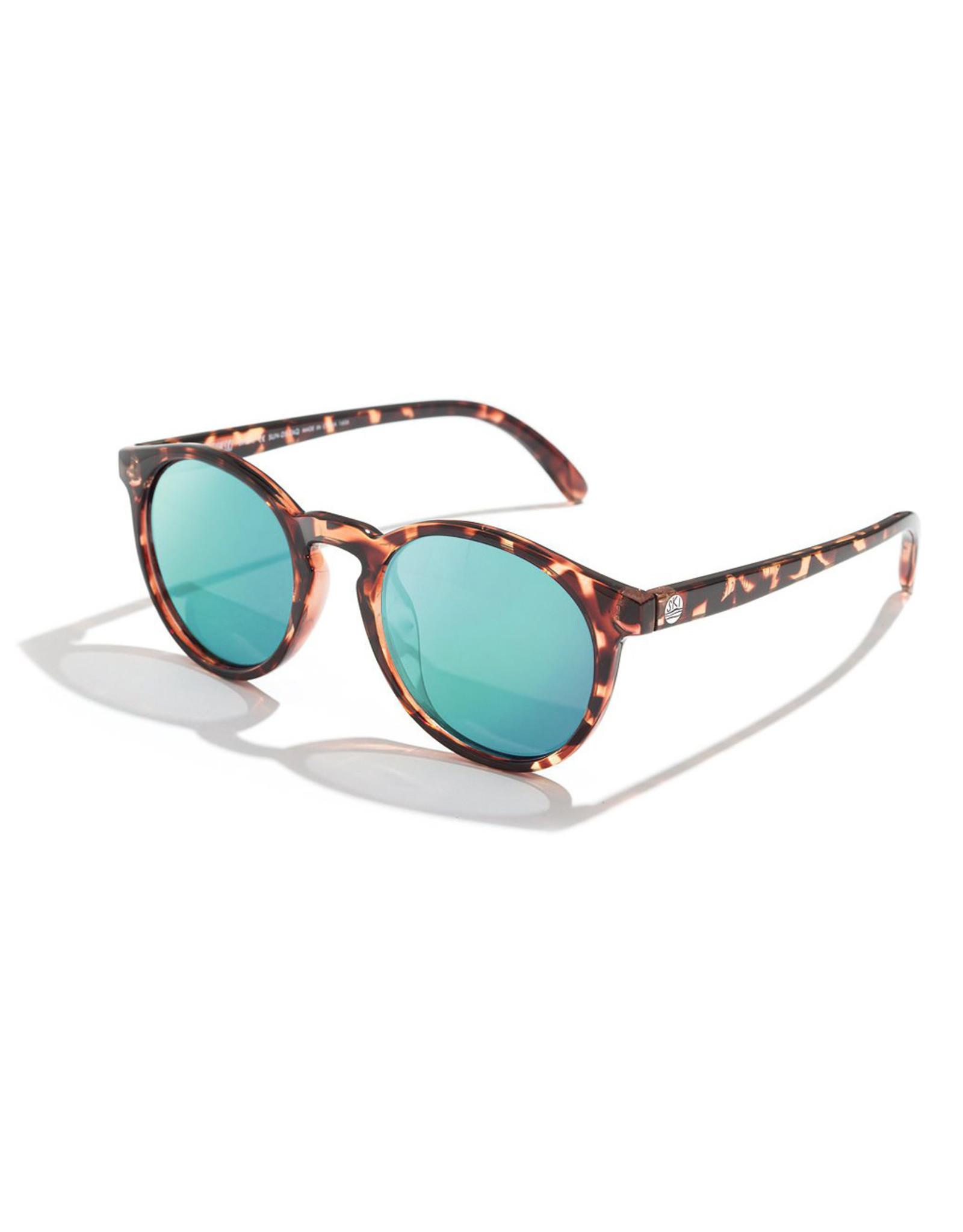 Sunski Dipsea Sunglasses Tortoise Emerald