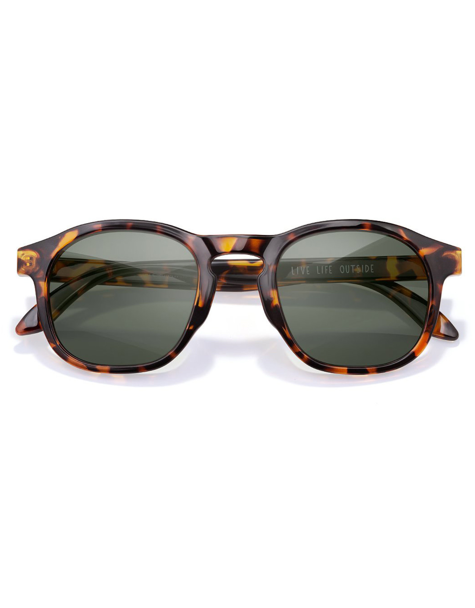 Sunski Foothills Sunglasses Tortoise Forest