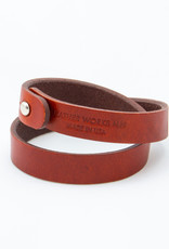 Leather Works Minnesota Double Wrap Cuff