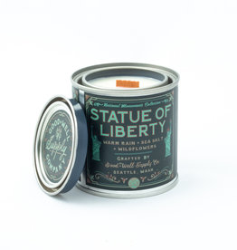 Good and Well Supply Company National Monument Candle - Statue of Liberty