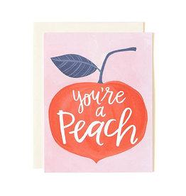 1canoe2 You're A Peach Card