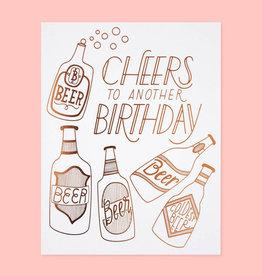 The Good Twin Cheers Birthday Card