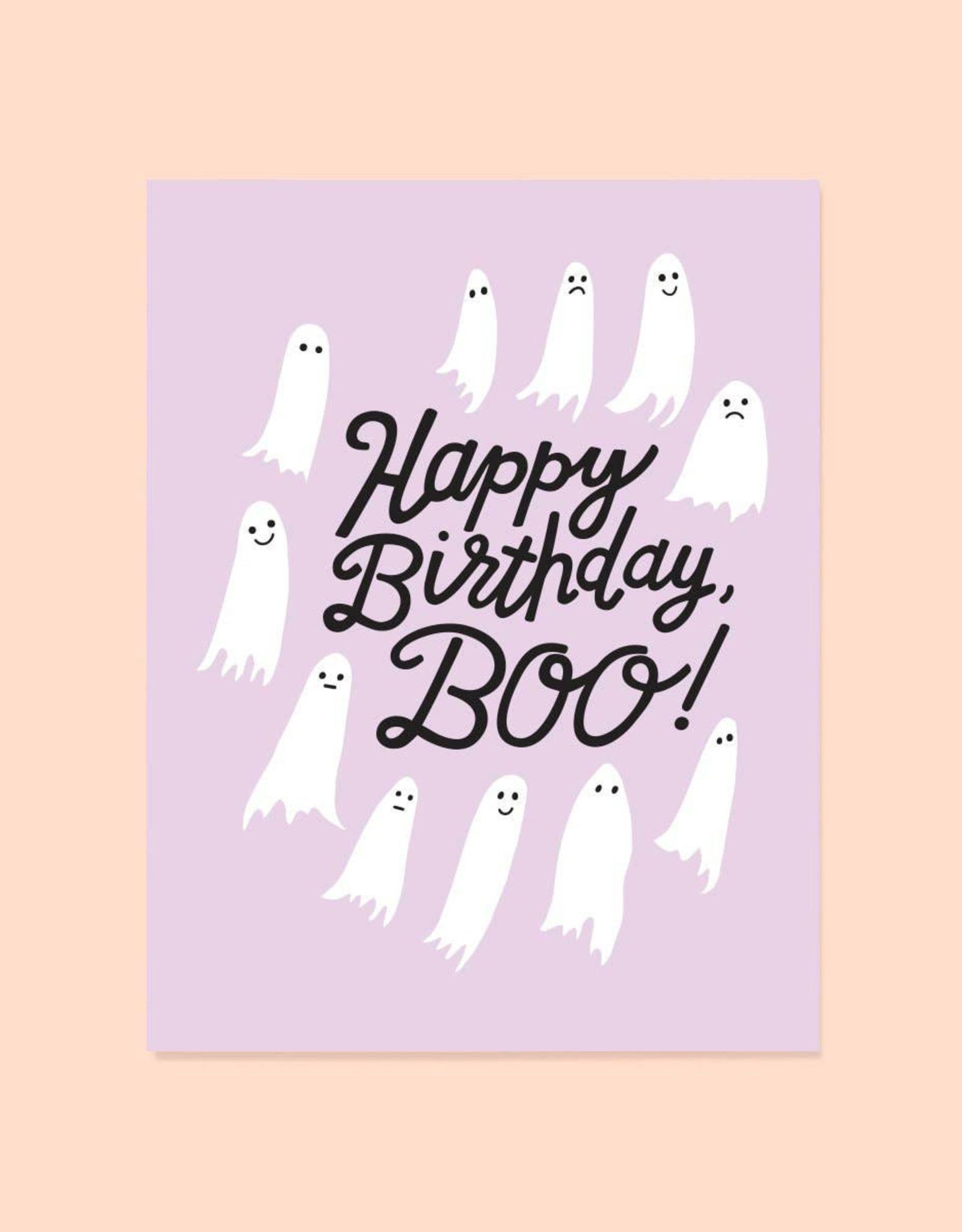 The Good Twin Birthday Boo Card