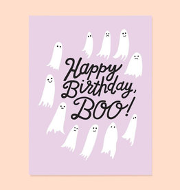 The Good Twin Birthday Boo Card