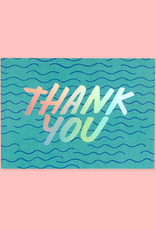 The Good Twin Waves Thank You Card