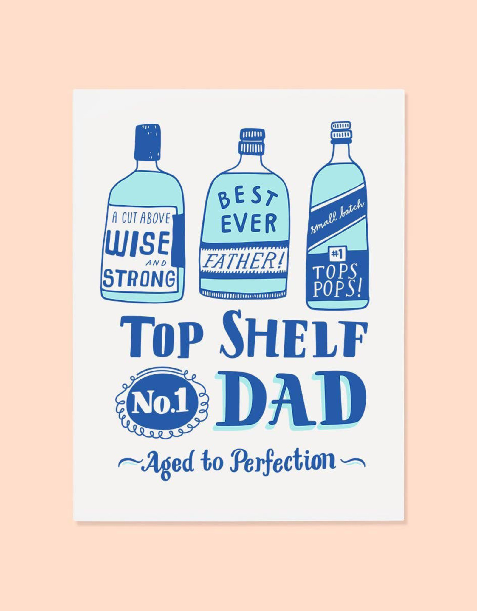 The Good Twin Top Shelf Card