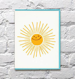 Bench Pressed Sunshine Card