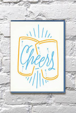 Bench Pressed Beers Cheers Card