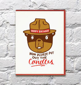 Bench Pressed Smokey Birthday Card