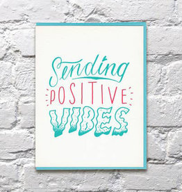 Bench Pressed Positive Vibes Card